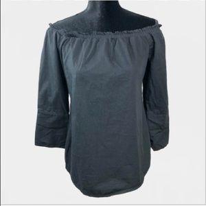 White House Black Market off the shoulder blouse
